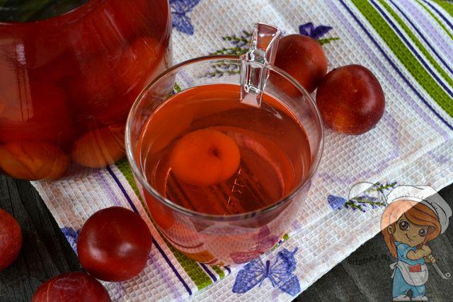 Как приготовить компот из слив, рецепт с фото
