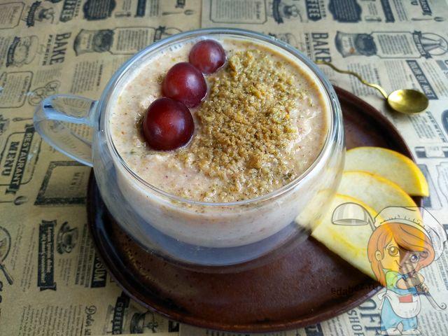 Йогурт из зеленой гречки, рецепт с фото