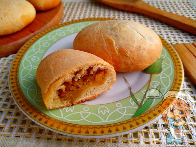 Пирожки с чечевицей в духовке, рецепт с фото