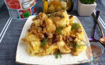 Ленивые вареники с картошкой, рецепт с фото