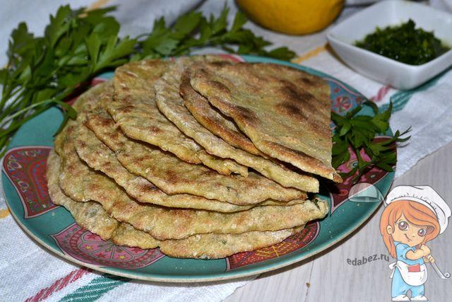 Наан, индийские лепешки