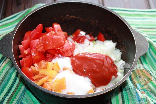 Немного томатной пасты