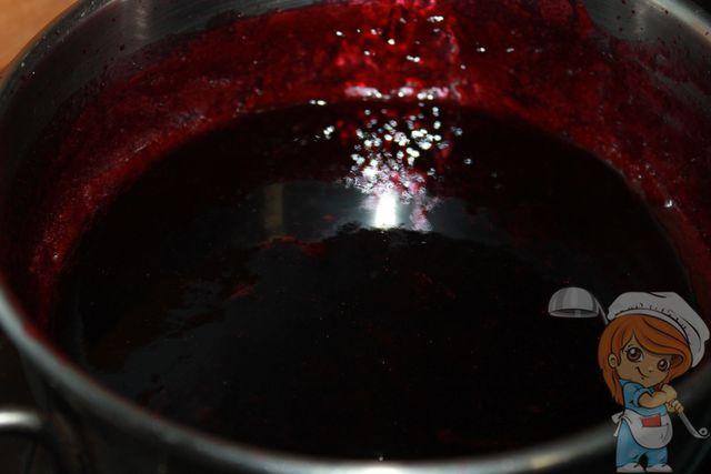 Виноградный джем готов