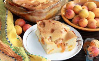 Клафути с абрикосами, рецепт с фото