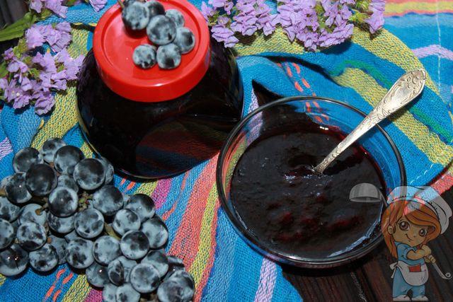 как приготовить джем из винограда