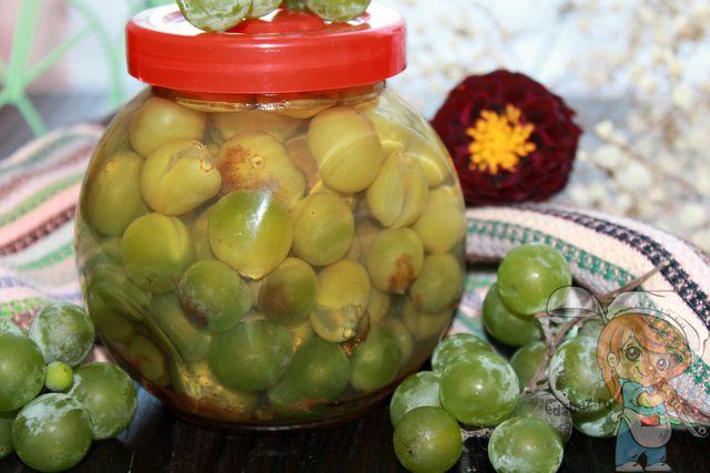 Как мариновать виноград, рецепт с фото