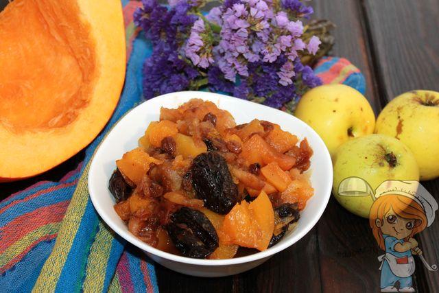 Десерт из тыквы, рецепт быстро и вкусно