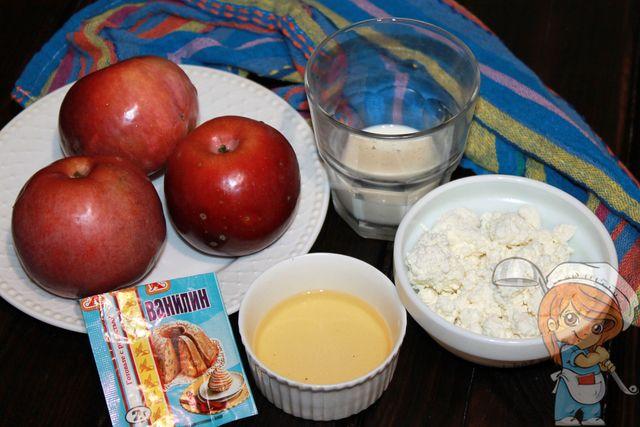 Ингредиенты для запекания яблок в духовке