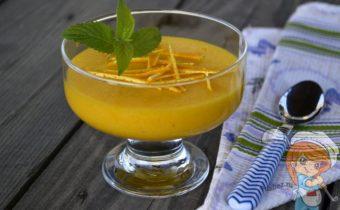 Тыквенный мусс с апельсином