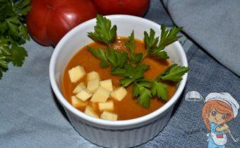 Суп-пюре из баклажанов, рецепт с фото