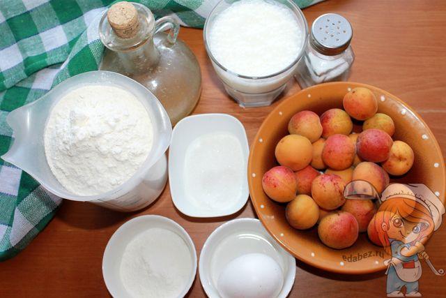 Ингредиенты для выпекания пирожков