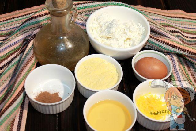 Ингредиенты для пп сырников