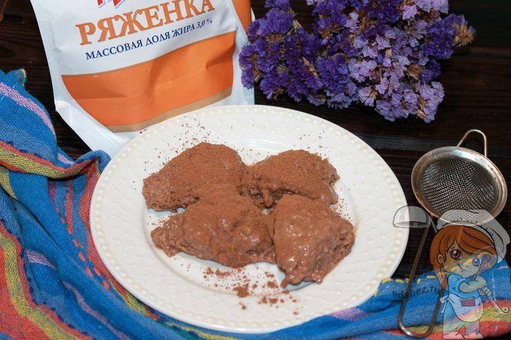 Вкуснейший десерт из ряженки
