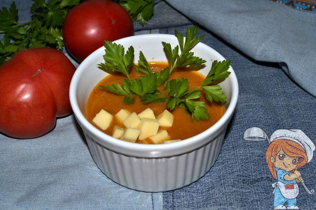 Баклажановый крем-суп