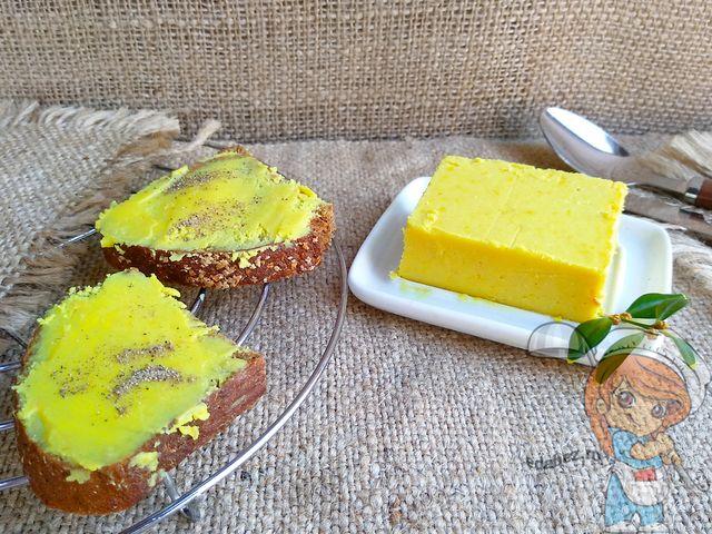 Веганское сливочное масло, рецепт с фото