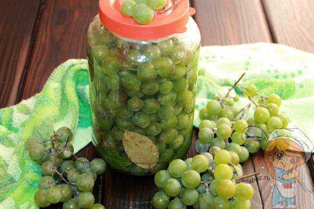 Как приготовить моченый виноград, рецепт с фото