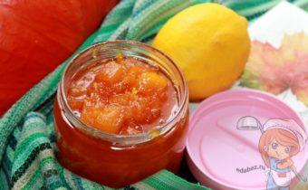 Варенье из тыквы с лимоном, рецепт с фото