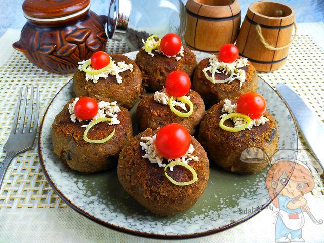Котлеты из баклажанов, рецепт с фото