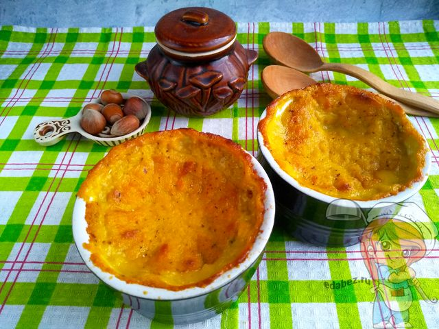 Кукурузное суфле без яиц