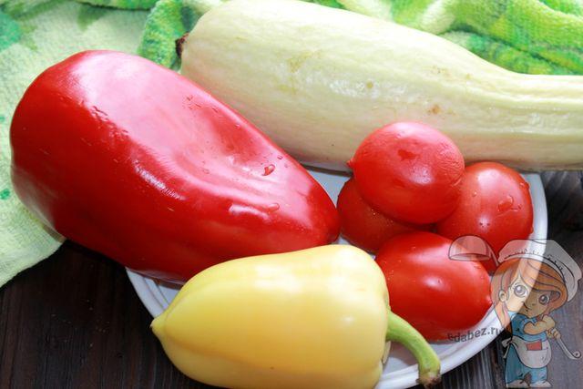 моем и сушим овощи