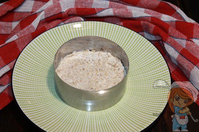 Основа пирожного в кольце