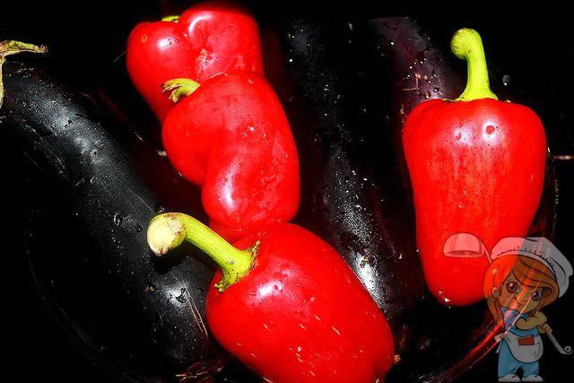 Отправляем овощи в духовку