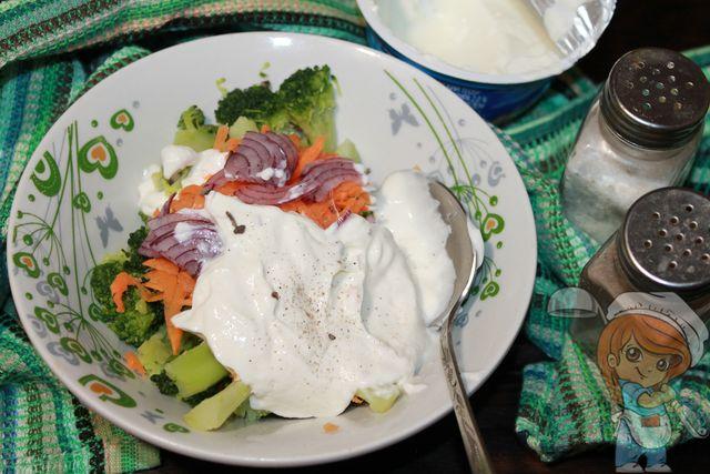 Заправляем йогуртом