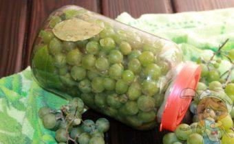 Моченый виноград, рецепт заготовки на зиму