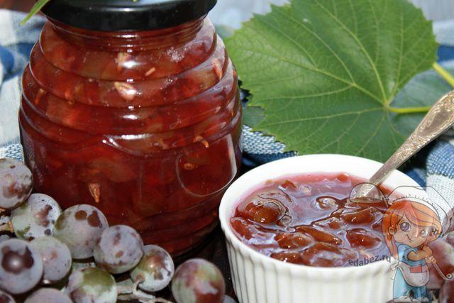 Как сварить варенье из винограда, рецепт с фото