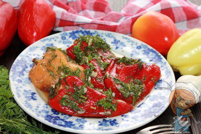 Болгарский перец, запеченный в духовке, рецепт