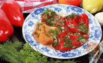 Болгарский перец в духовке, рецепт с фото