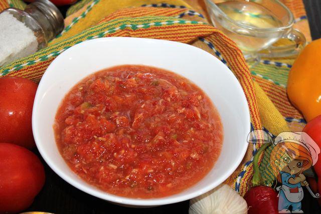 Хреновина с болгарским перцем, рецепт приготовления
