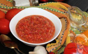 Хреновина с болгарским перцем, рецепт с фото