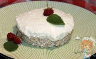 Творожное пирожное, рецепт с фото
