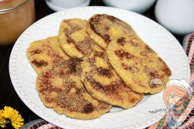 сырники из кукурузной муки, рецепт с творогом