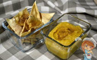 Тыквенный хумус, рецепт с фото