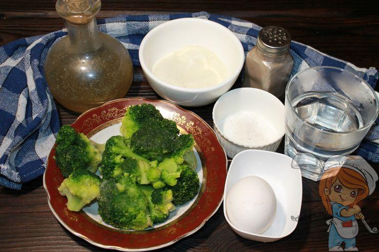 Ингредиенты для запекания брокколи