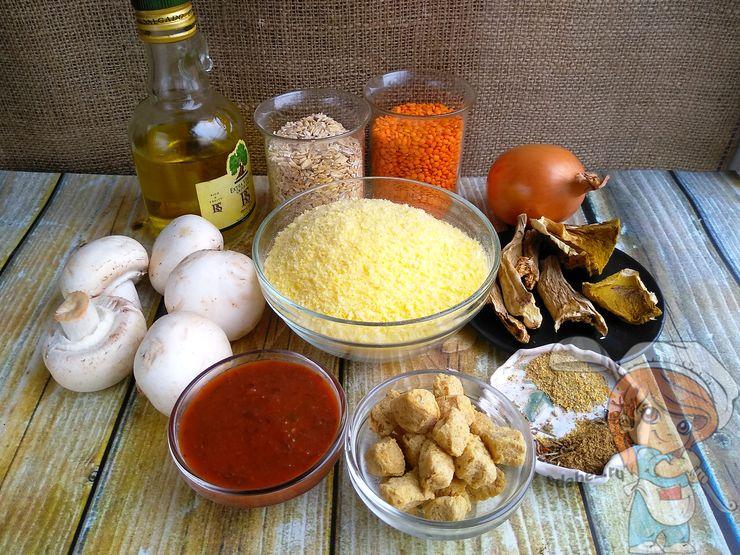 Ингредиенты для мясного хлеба