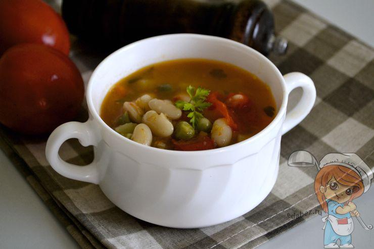 Суп Минестроне, рецепт с фото