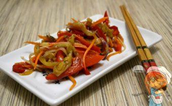 Баклажаны по-корейски, рецепт с фото