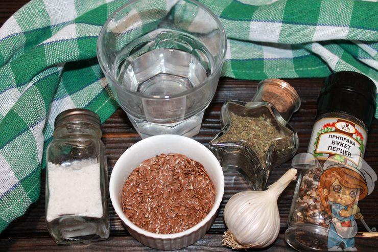 Состав и ингредиенты льняных флаксов