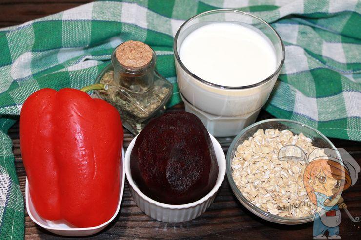 Ингредиенты для очищающего блюда