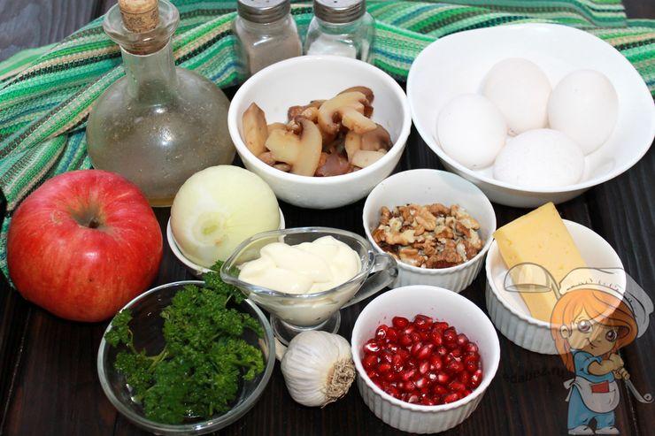 Продукты для праздничного салата