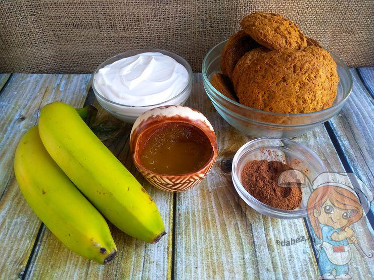 Ингредиенты для приготовления торта без выпечки