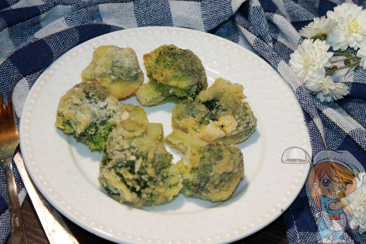 как приготовить брокколи в панировке, рецепт с фото