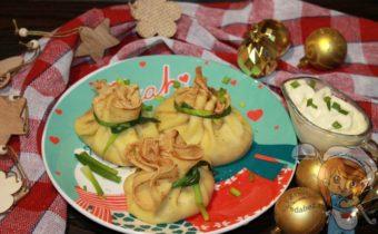 Волшебные мешочки от Снегурочки, рецепт закуски