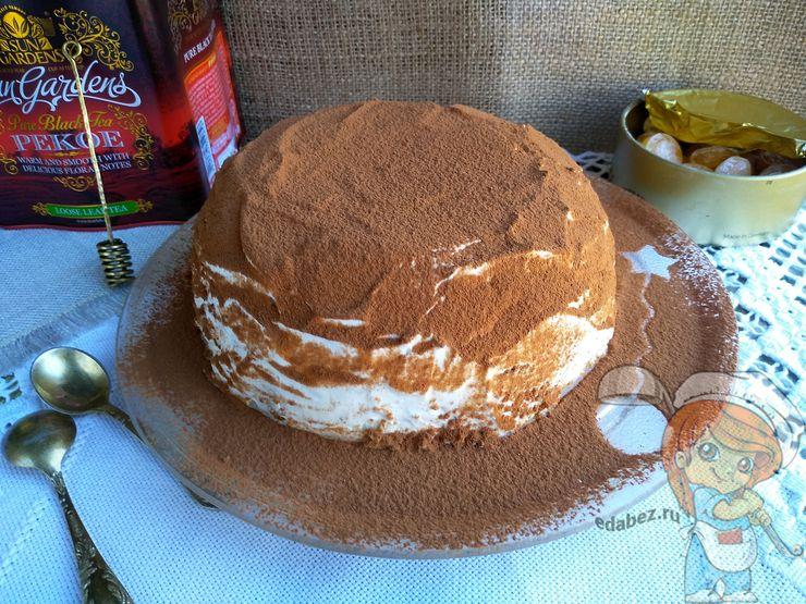 Рецепт торта из овсяного печенья без выпечки