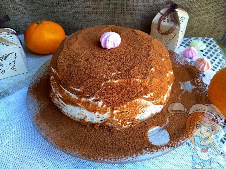 Овсяный торт без выпечки