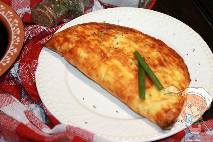 Кесадилья с сыром и овощами