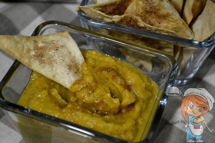 рецепт приготовления тыквенного хумуса